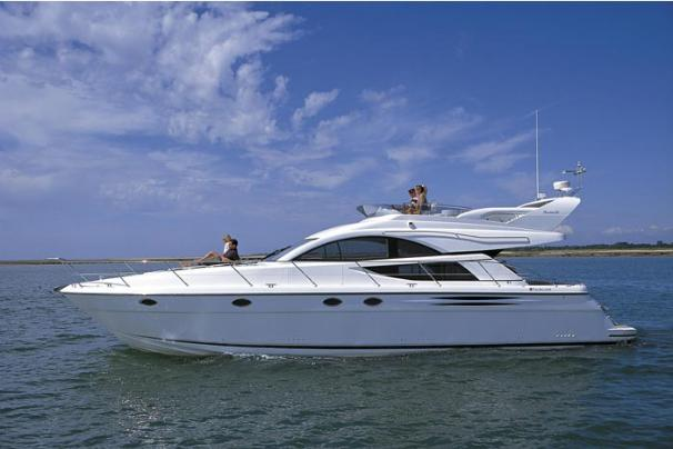 Fairline Phantom 50 Side View