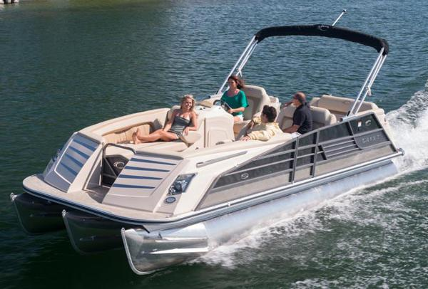 Crest Pontoon Boats Savannah 250 Manufacturer Provided Image: Manufacturer Provided Image