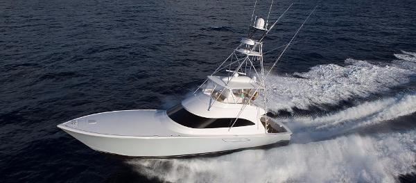Viking 62 Convertible Port Side