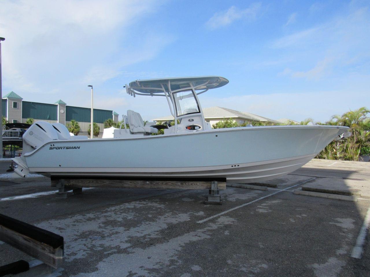 sportsman open boats boat