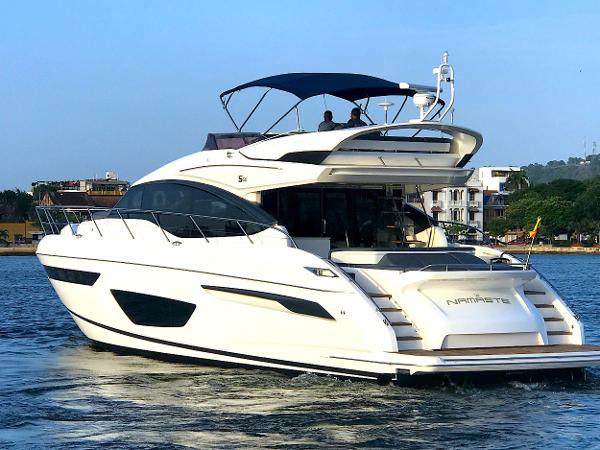 "Princess S65 2017 Princess S65 ""NAMASTE"" FOR SALE"