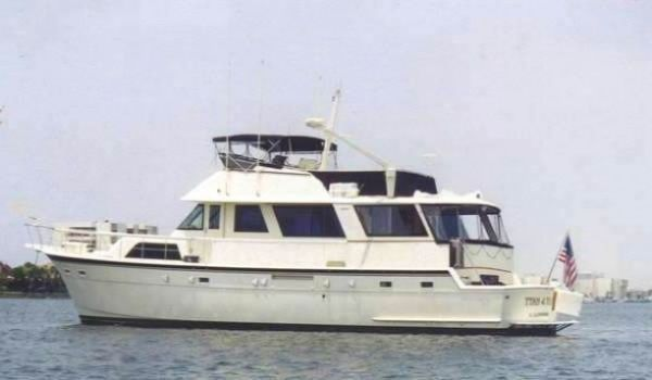 Hatteras Cockpit Motor Yacht Photo 1