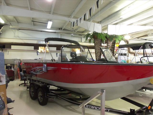 Starcraft Fishing Boat Fishmaster 196
