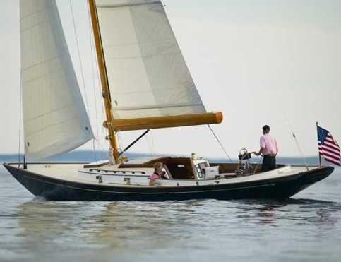 Hinckley Daysailor 42 Manufacturer Provided Image