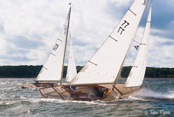Edey & Duff 28' Stuart Knockabout Sister Ships Racing