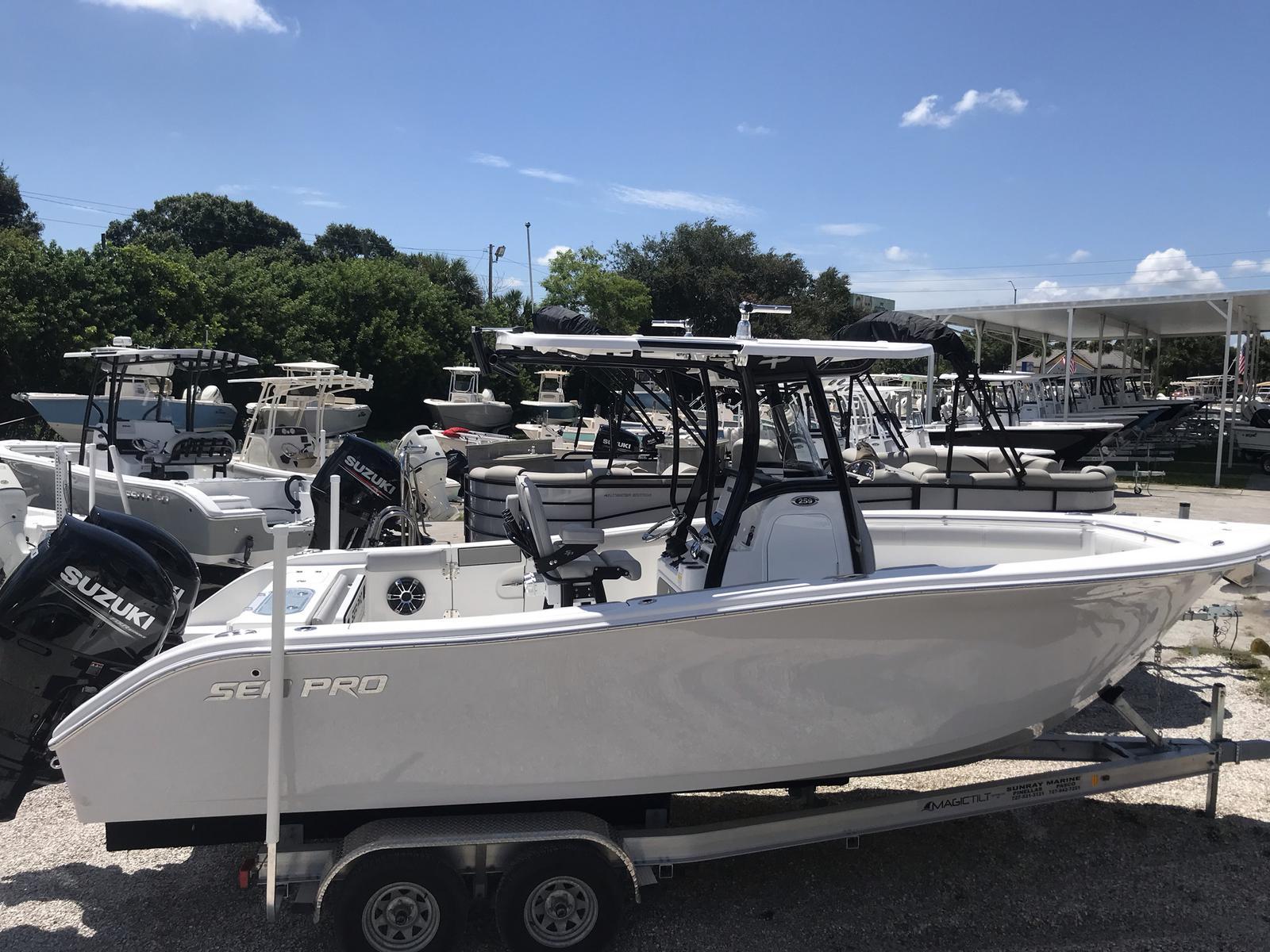 Sea Pro 259 Deep V CC