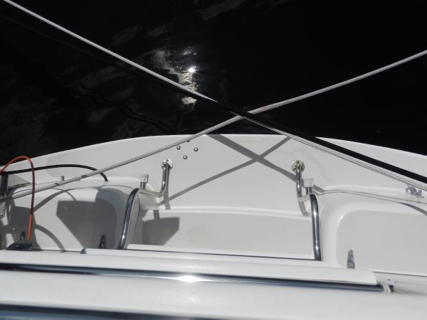 Transom platform and ladder