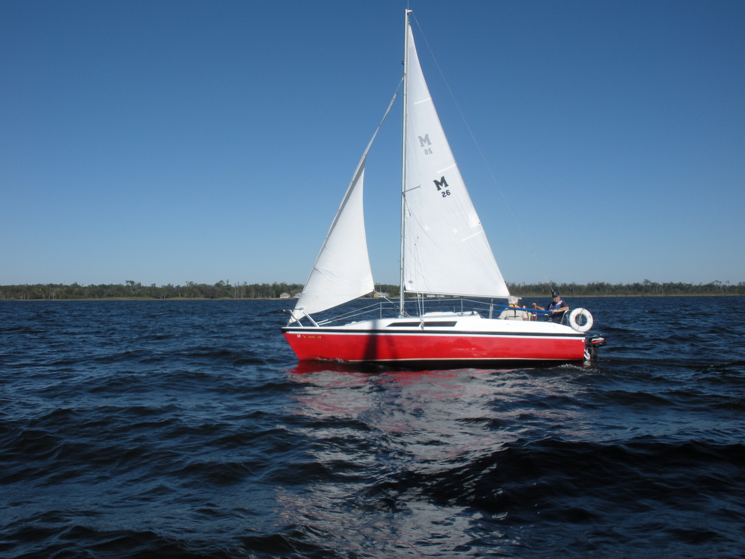 MacGregor 26-S Under Sail
