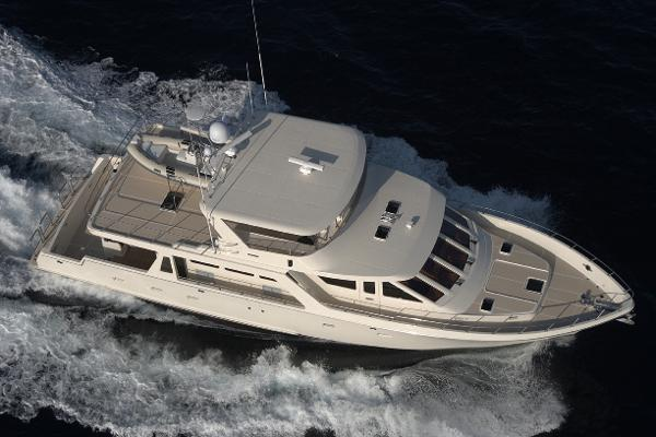 Offshore Yachts 72 Pilot House Manufacturer Provided Image