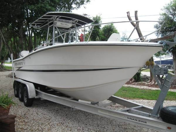 Hydrasports 2500 CC 1992 Hydra-Sports 2500 Cc for sale in Key Largo, FL