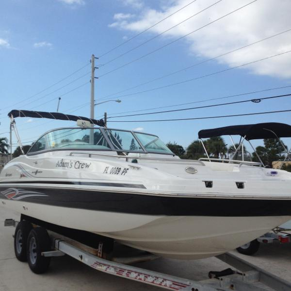 Used hurricane 237 sundeck boats for sale for Hurricane sundeck for sale