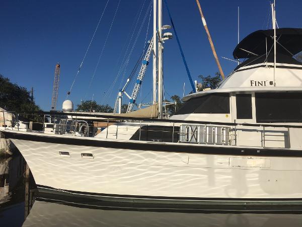 Hatteras Cockpit Motor Yacht 58' HATTERAS YACHT FISHERMAN