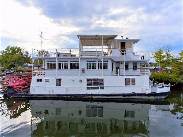 AC Mcleod Custom Sternwheeler House Barge Profile