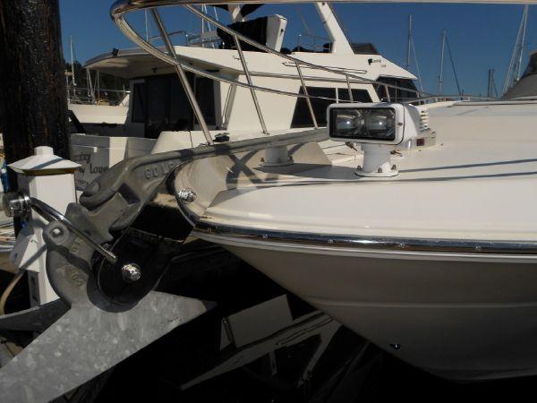 Anchor, Windlass & Spotlight