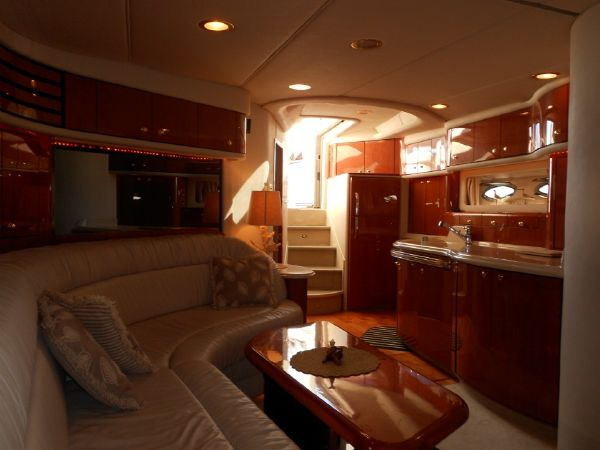 Salon & Galley Looking Aft