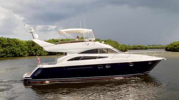 Princess Viking 50 Flybridge Profile