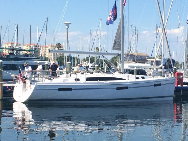 Catalina 425 At the Dock