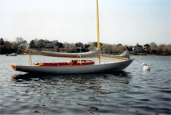Herreshoff Buzzard's Bay 25 At  Rest