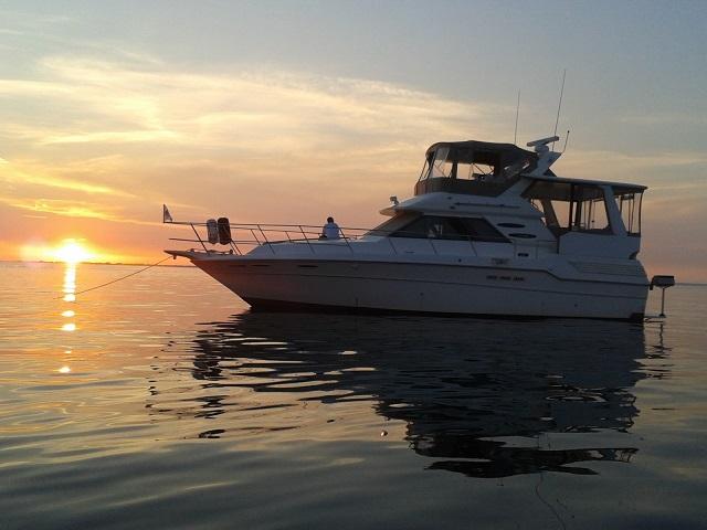 Sea Ray 410 AC