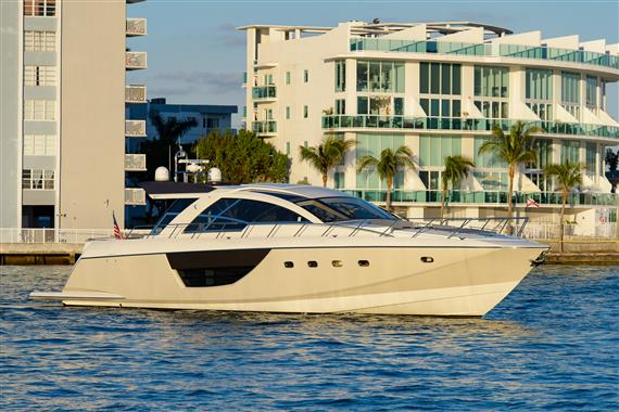 Cheoy Lee ALPHA MOTOR YACHT EXPRESS COUPE