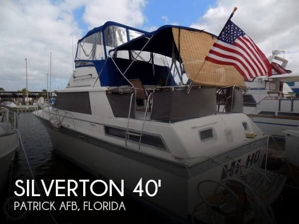 Silver Wave Aft Cabin 40 1984 Silverton Aft Cabin 40 for sale in Patrick Afb, FL