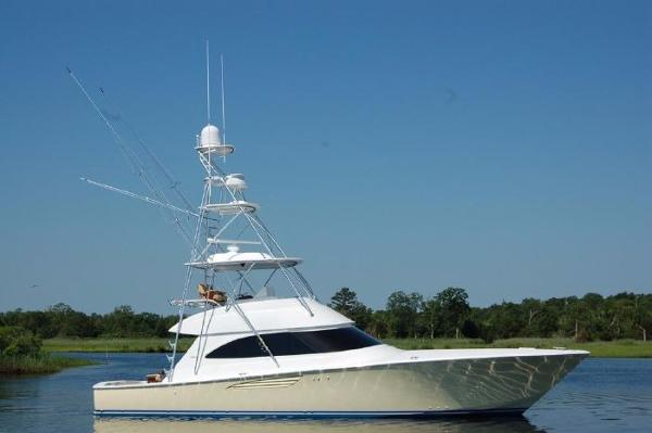 Viking 52 Convertible Starboard Side