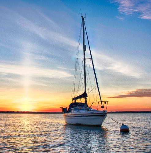 Southerly 28 At anchor