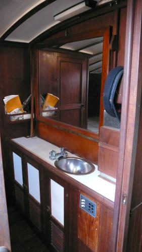 Stern Captain's Quarters opposite berth