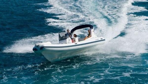 Nuova Jolly NJ 750 On the water