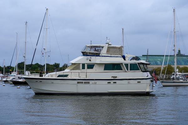Hatteras 54 Motoryacht 54 Hatteras Port