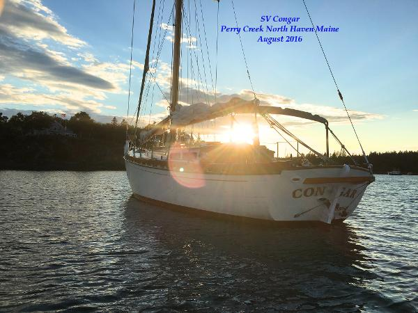 Winthrop Warner Motor Sailing Cutter
