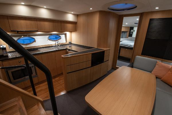 Princess V56 - Saloon and Galley