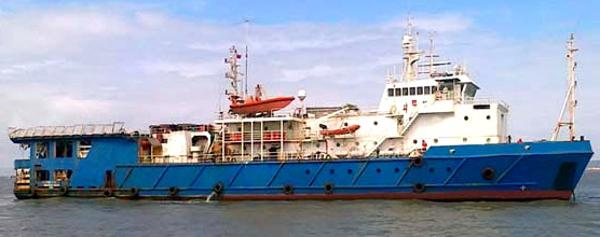 Custom Seismic Research & Multi-Purpose Support Vessel