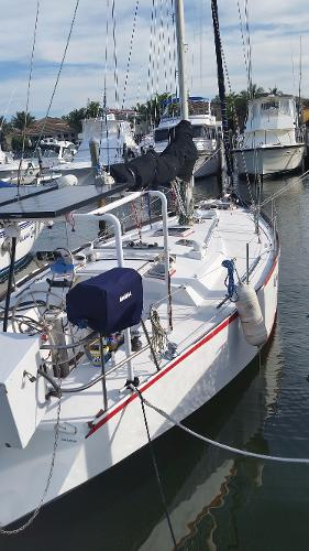 Groupe Finot Custom Steel Sailboat Profile