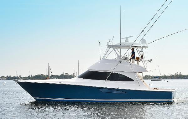 Viking 48 Conv Sport Fisher Port Side