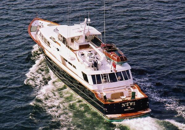 Denison Raised Bridge Cockpit Motor Yacht