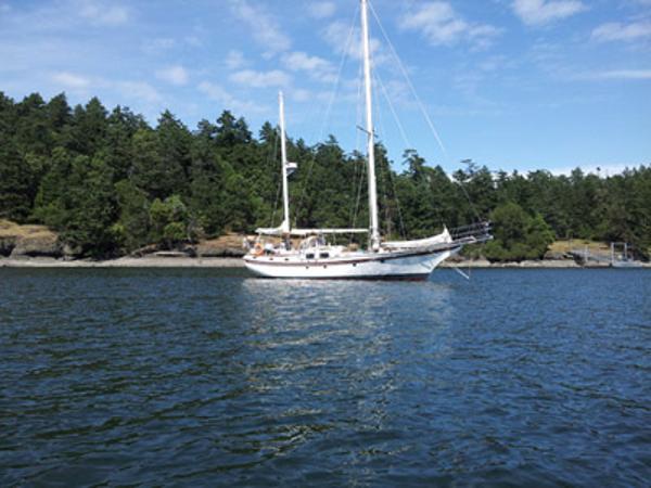 Blue Water Yachts Vagabond 47 Elizabeth Jane