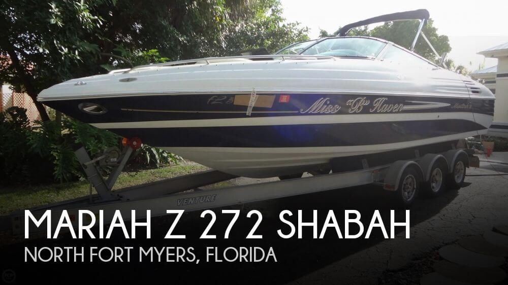 Mariah Z 275 Shabah 2001 Mariah Z 272 Shabah for sale in North Fort Myers, FL