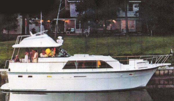 Hatteras Double Cabin Profile