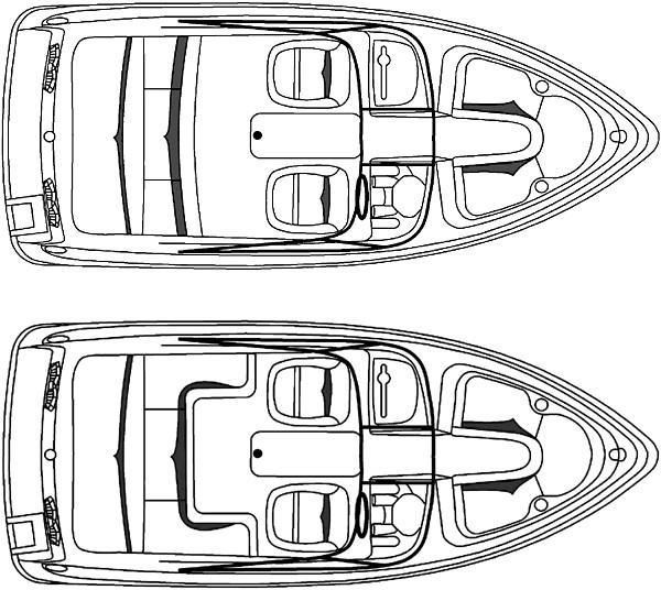 Manufacturer Provided Image: 210 - deck plan 1, 2