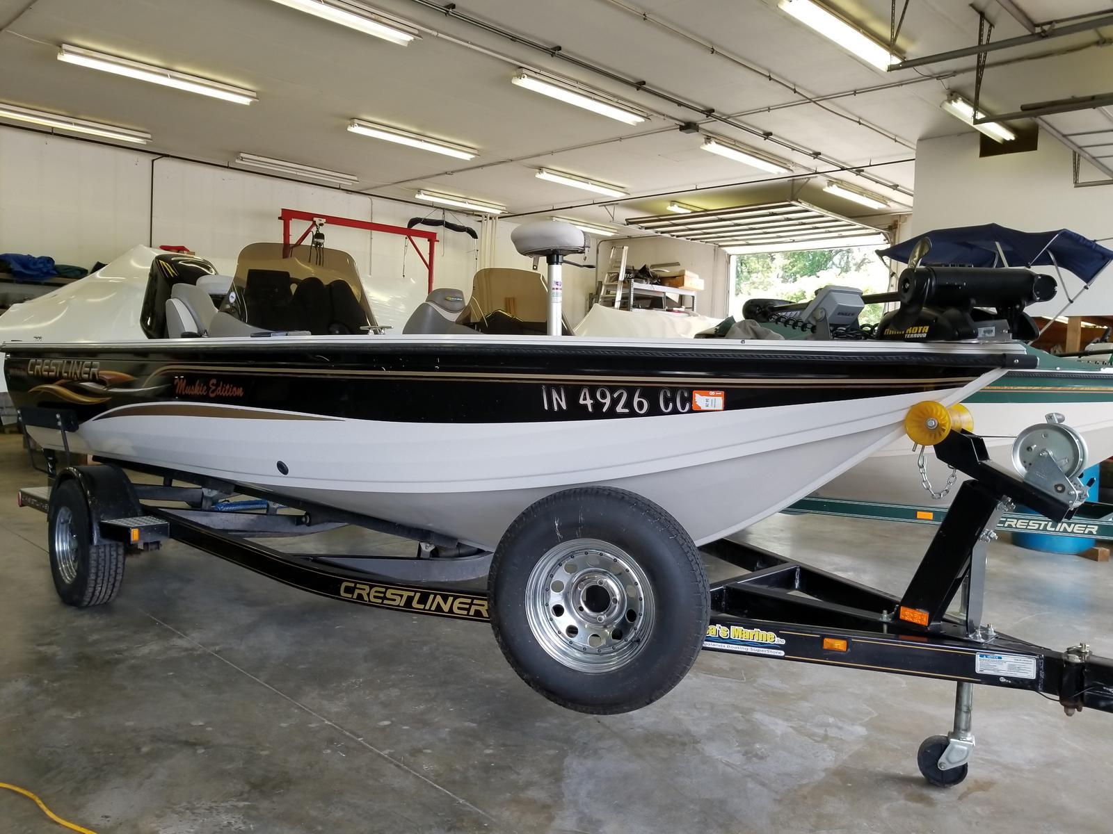 Used crestliner boats for sale page 3 of 6 for Crestliner fish hawk