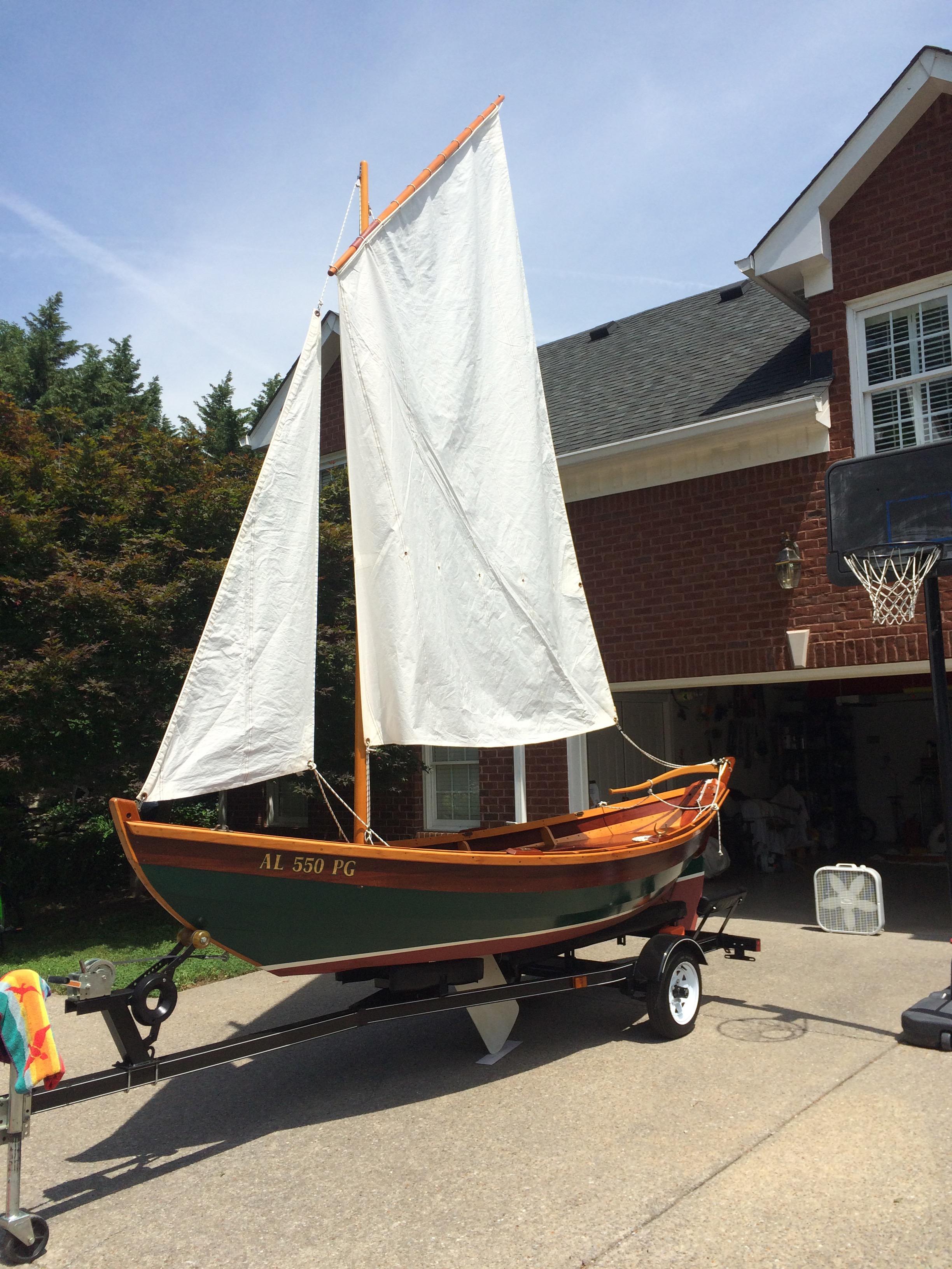 Lowell Sailing Surf Dory