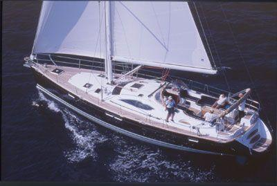 Jeanneau Sun Odyssey 54 DS Manufacturer Provided Image: Sun Odyssey 54 DS