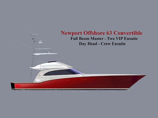 Newport Offshore 63 Convertible