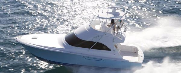 Viking 42 Convertible Port Side