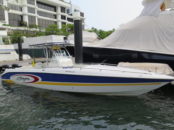Baja 340 Islander Outboard Baja 340 - Profile