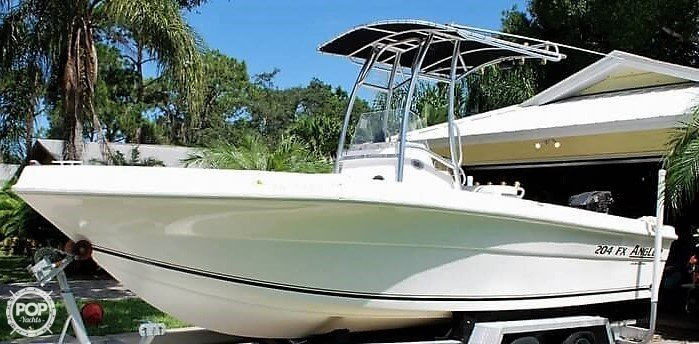 Angler Boats 204fx 2006 Angler 204 FX Limited Edition for sale in Sarasota, FL