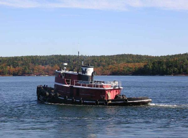 Model Bow Tug 1750 HP  - Harbor Tugboat Tug Boat 80' Model Bow Harbor Tug For Sale
