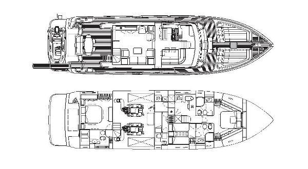 Ferretti Altura 690 bateau à moteur d'occasion en vente à Majorque, Espagne