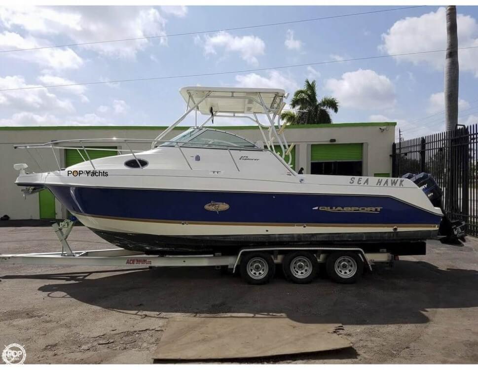 Aquasport 275 Explorer 2001 Aquasport 275 Explorer for sale in Plantation, FL